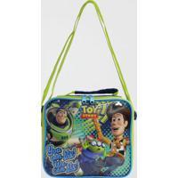 Lancheira Toy Story Infantil Dermiwil Azul (Azul Médio, Único)