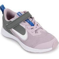 Tênis Infantil Nike Downshifter 9 Velcro Psv - Unissex-Lilás+Branco