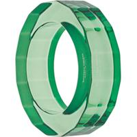 Bottega Veneta Bracelete Transparente De Resina - Verde