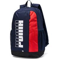 Mochila Puma Plus Backpack - Unissex-Marinho+Vermelho