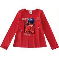 Blusa Vermelha Ladybug®