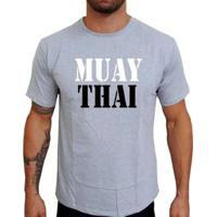 Camiseta Mma Shop Muay Thai - Masculino