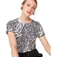 Camiseta Malha Basica Estampada
