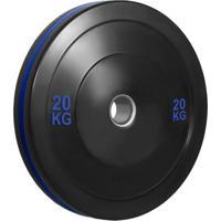 Anilha Olímpica Bumper Plate Para Musculação 20Kg Wct Fitness 10100520