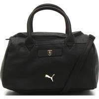 Bolsa Puma Sf Ls Handbag Preta