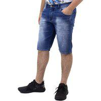 Bermuda Jeans Masculina Slim Play Denim