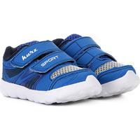 Tênis Infantil Kurz Velcro - Masculino-Azul Royal