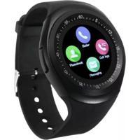Relógio Smartwatch Tomate Y1 Multifuncional Tr-02 Preto