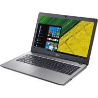 "Notebook Acer F5-573G-75A3 - Prata - Intel Core I7 - Ram 8Gb - Hd 1Tb - Tela 15.16"" - Windows 10"