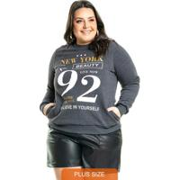 Blusão New York Cinza