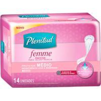 Protetor Diário Plenitud Femme Médio 14 Unidades