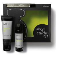 Kit Presente Men: Desodorante Colônia 10Ml + Shower Gel 2 Em 1 75G + Antitranspirante Aerossol 31G