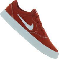 Tênis Nike Sb Charge Cnvs - Masculino - Vermelho/Branco