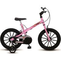 Bicicleta Colli Mtb Aro 16 Feminino Detalhes Preto - 123-10 - Unissex