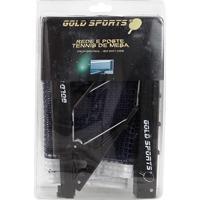 3b7774a101 Netshoes  Kit Para Tenis De Mesa Gold Sports Rede E Suporte Modelo Jacaré -  Unissex