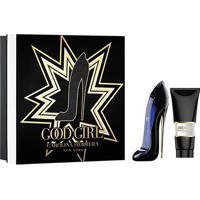 Kit Perfume Carolina Herrera Good Girl Eau De Parfum Feminino 80Ml + Hidratante Corporal 100Ml - Feminino-Incolor