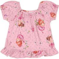 Blusa Marisol Bebê - 10316878B Rosa