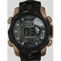f7ac95e8818 CEA  Relógio Digital Speedo Masculino - 11005G0Evnp2 Preto - Único