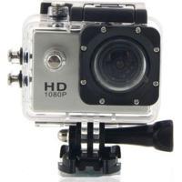 Câmera Filmadora Sports Esportiva Hd Dv 1080P Prata