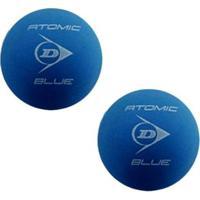 Bolas De Frescobol Dunlop Atomic Blue Kit 2 Unidades - Unissex