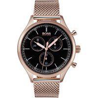 Relógio Hugo Boss Masculino Aço Marrom - 1513548