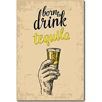 Placa Decorativa - Tequila - 0695Plmk
