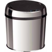 Lixeira Inox Automática Com Sensor Tramontina 6 Litros