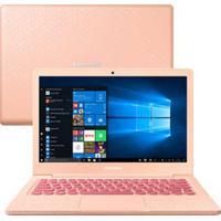 """Notebook Samsung, Intel Celeron N4000, 4Gb, 64Gb, Tela 13,3"""", Aquarela, Flash F30 - Np530Xbb-Ad3Br"""