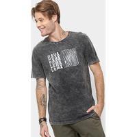 c248540141 Netshoes  Camiseta Cavalera Glistitucional Masculina - Masculino