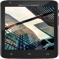 Tablet Mini Ms45S 4,5 Dual Chip Preto Quadcore 8Gb Flash 1Gb Ram Nb234