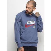 Moletom Nike Sb Hoodie Washed Icon Masculino - Masculino