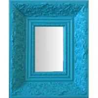 Espelho Moldura Rococó Fundo 16229 Anis Art Shop