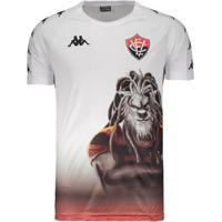 Camisa Kappa Vitória Aquecimento Jogador 2019 - Masculino