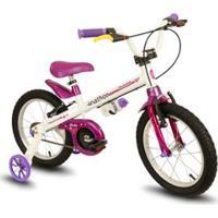 Bicicleta Infantil Aro 16 Raiada Bella - Nathor - Unissex