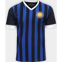d7c15ff44f Netshoes  Camiseta Argentina 1986 Retro Times Masculina - Masculino