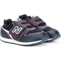 New Balance Kids Tênis Com Velcro - Azul