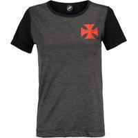 Camiseta Do Vasco Da Gama Line 19 - Feminina