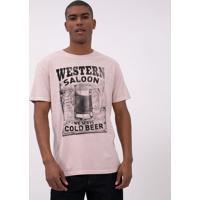 Camiseta Comfort Estampa Copo De Cerveja