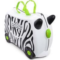 Mala Infantil Trunki - Zebra Zimba - Unissex-Branco