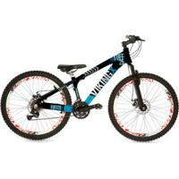 Bicicleta Viking Freeride 21V Kit Shimano Freio À Disco - Unissex