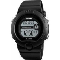 Relógio Infantil Skmei Digital Masculino - Masculino-Preto