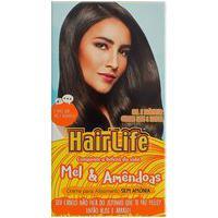 Creme Alisante Hair Life Mel & Amêndoas Kit