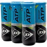 Kit 6X Pack Bola De Tênis Dunlop Atp - Unissex