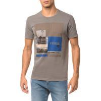 Camiseta Ckj Mc Est Legends - Grafite - Pp