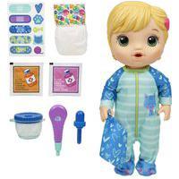 Boneca Baby Alive Loira Aprendendo A Cuidar - Hasbro