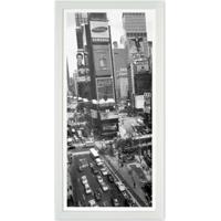 Quadro Times Square Kapos Branco 54X27Cm
