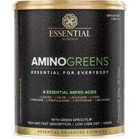 Amino Greens Lata 240G - Essential Nutrition - Unissex
