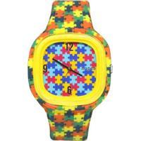 Relógio Hopes Autismo Print - Unissex
