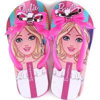 Chinelo Infantil Grendene Kids Ipanema Barbie Fashion Feminino - Feminino-Rosa