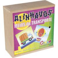 Alinhavos Carlu Meios De Transporte - Madeira - 1064 - Roxo